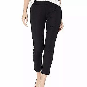 J. Crew Mercantile quality Stretch fitted skinny black Ankle pants Sz 10P NWT